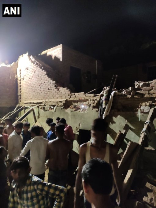 House collapsed in Noida