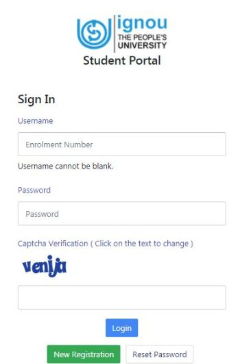 Samarth Login Portal