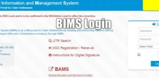 BIMS Login