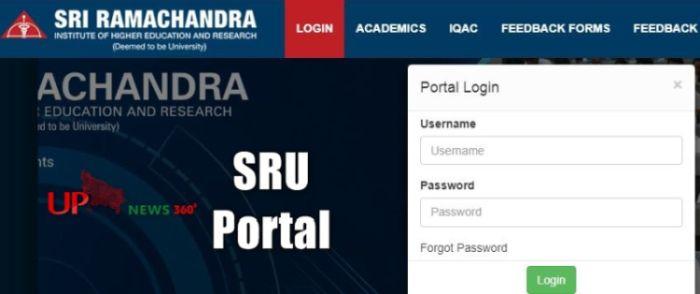 SRU Portal