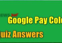 Google Pay Colour Event Quiz Answers
