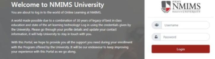 SVKM Portal NMIMS
