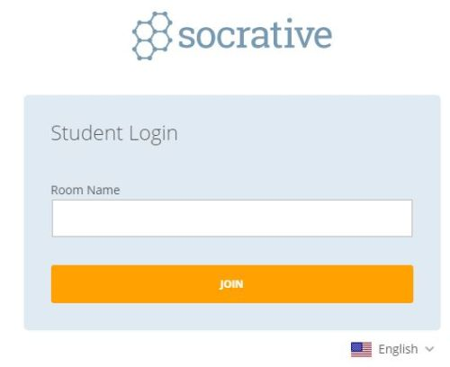 Socrative Student Login