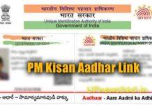 PM Kisan Aadhar Link