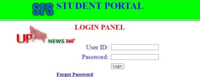 SFS Student Portal