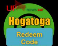 Hogatoga Redeem code free fire today