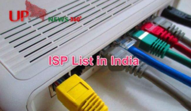 ISP List in India 2021